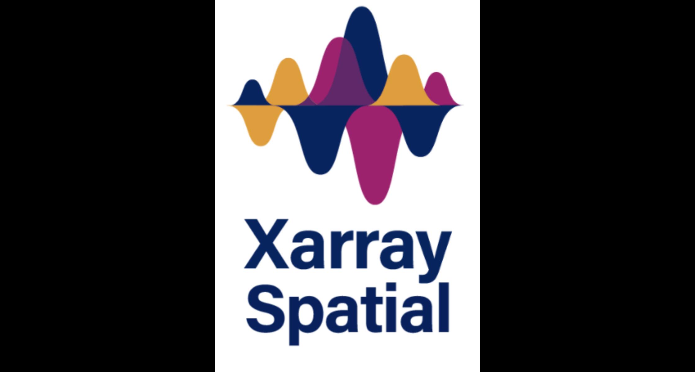 Xarray-Spatial Logo Banner Image