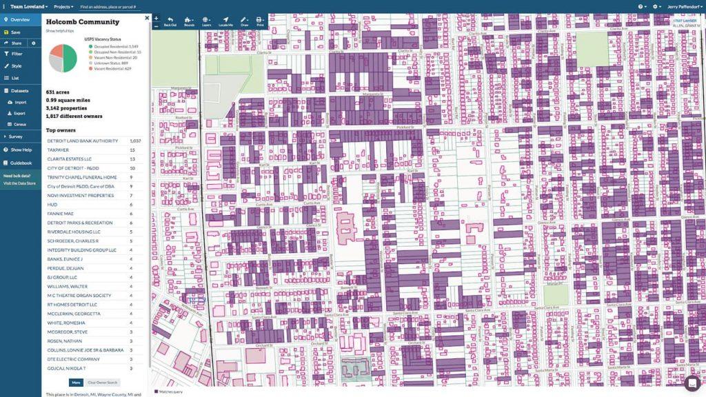 Landgrid parcel mapping tool