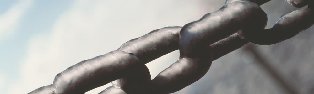 Parcel separation chain