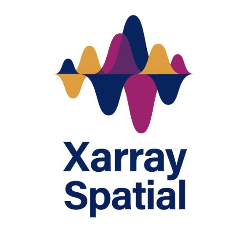 Xarray-Spatial logo