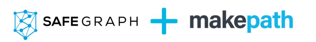 Safegraph + makepath partnership image