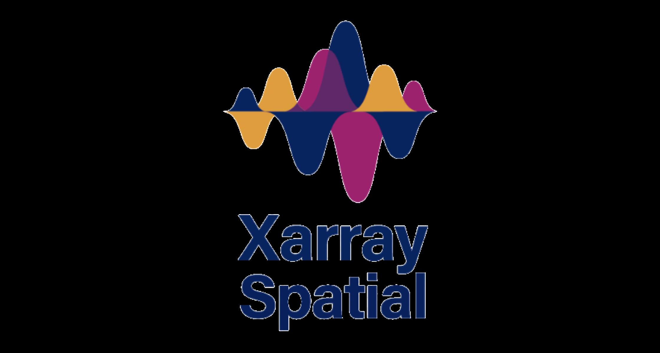 Xarray-Spatial Logo Banner