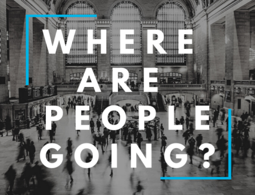 Where are People Going? A Visual Analysis