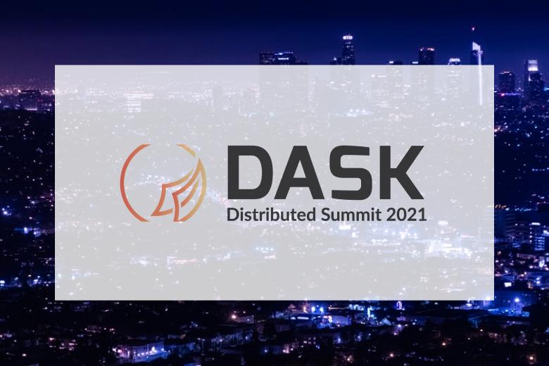 Dask Summit 2021 Logo Banner
