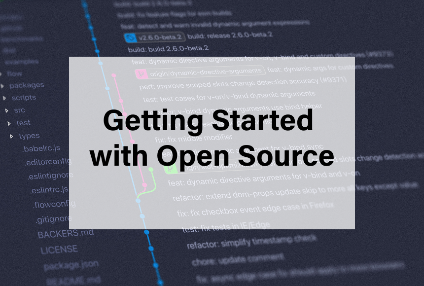 Getting Started with Open Source Banner